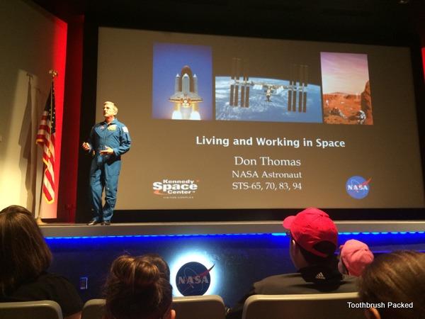Don Thomas meet the astronaut