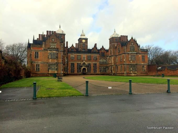 Aston Hall facade