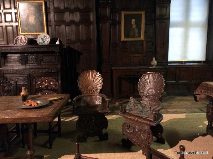 dining room aston hall
