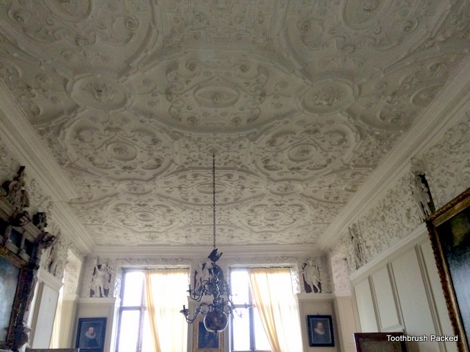 aston hall ceiling