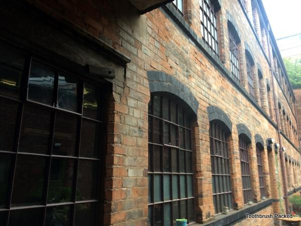 coffin works courtyard